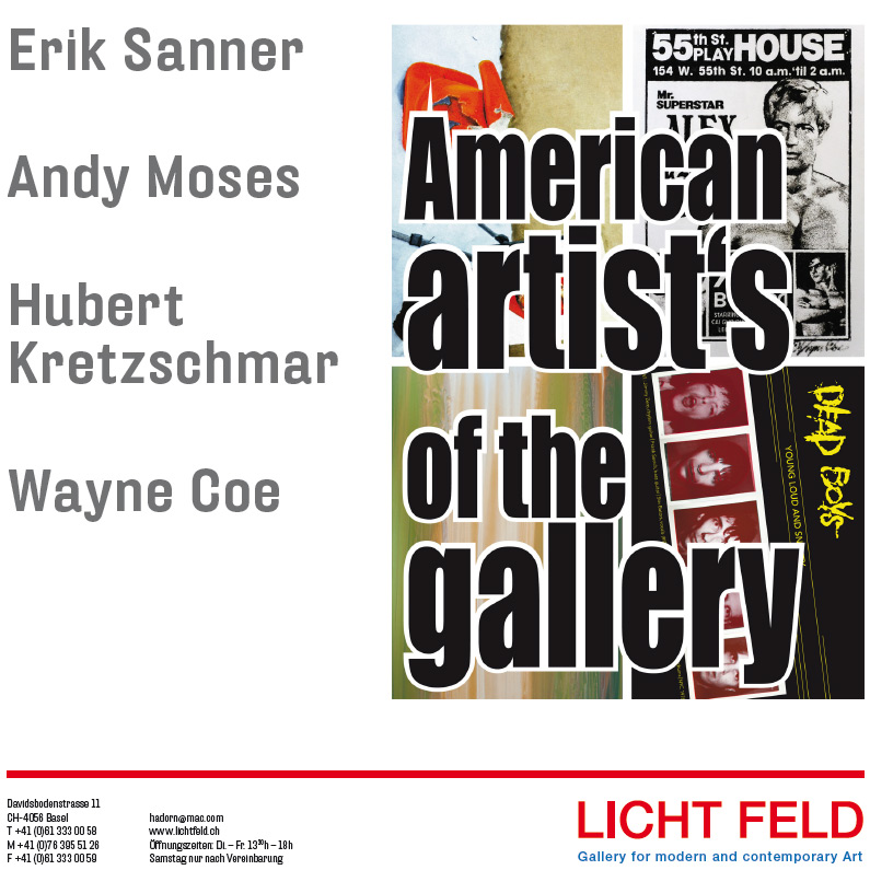 American Artists of the gallery Exhibition @ Licht Feld Gallery