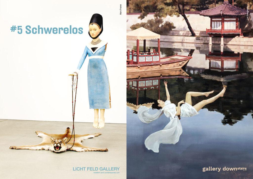 #5 Schwerelos Ausstellung LICHT FELD Gallery & gallery downstairs